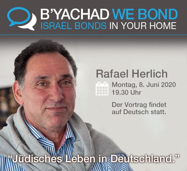 Israel Bonds B'yachad We Bond - Rafael Herlich - 8 June 2020