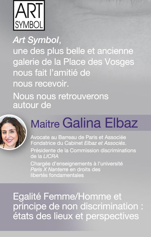 Israel Bonds - Journée internationale des femmes - Maitre Galina Elbaz à la Galerie Art Symbol le 8 mars 2019
