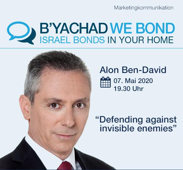 Israel Bonds B'yachad We Bond - Alon Ben-David - 7 May 2020