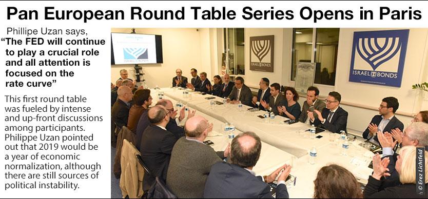 Pan European Round Table Series Opens in Paris