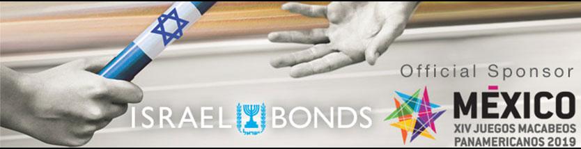 Israel Bonds official sponsor of Mexico XIV Juegos Macabeos Panamericano 2019