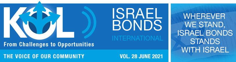 KOL Israel Bonds International Newsletter